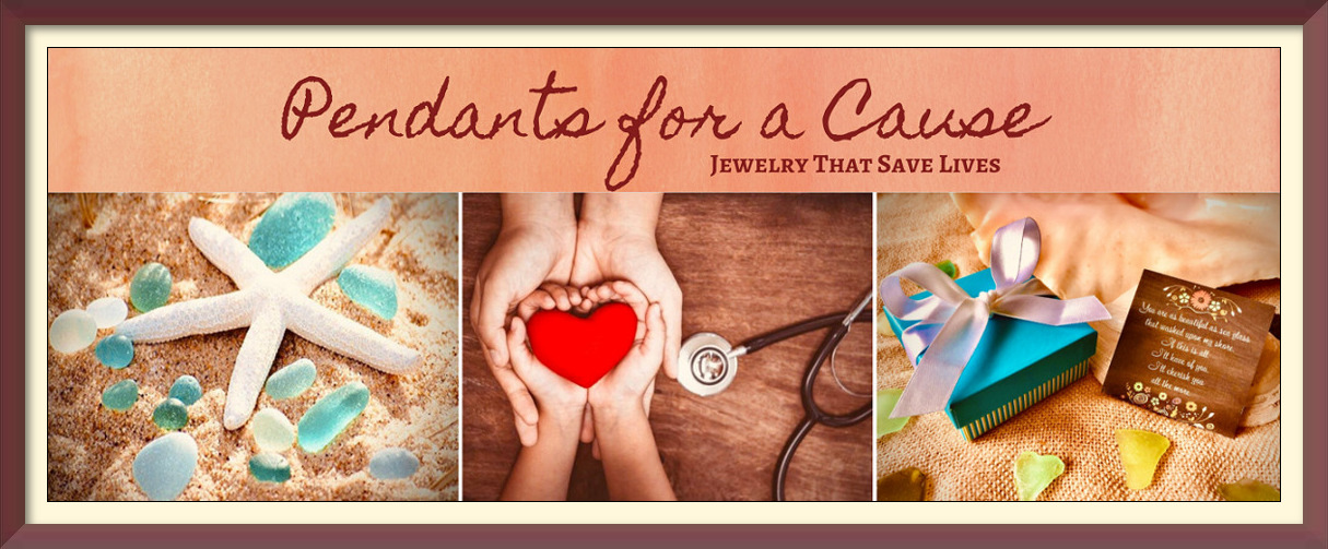 Pendants for a Cause Sea Glass Jewelry